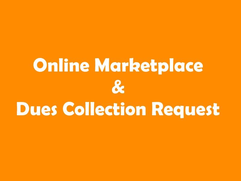Online Marketplace Sale Request