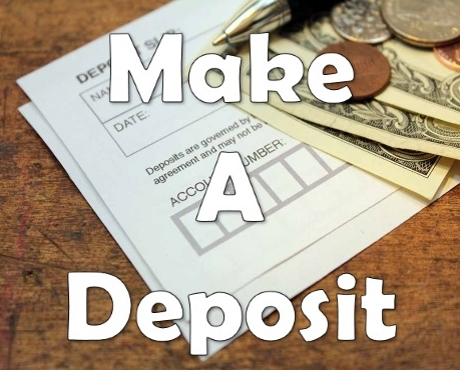 How to make a deposit